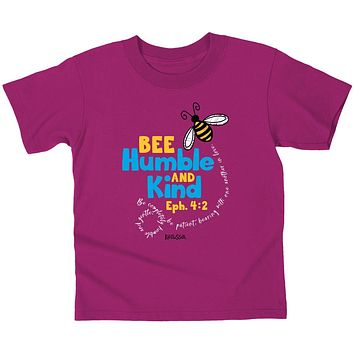Cherished Girl Bee Humble Christian Toddler Youth T-Shirt