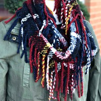 Mountain View Infinity Scarf