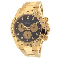 Rolex Cosmograph Daytona automatic-self-wind mens Watch 116528PNBK (Certified Pre-owned)