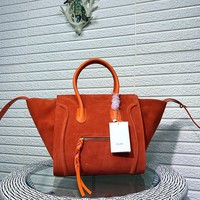 Ready Stock Celine Women's Suede Leather Tote Bag Handbag #2295