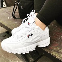 FILA Fashion Women Men Sport Running Shoes Sneakers