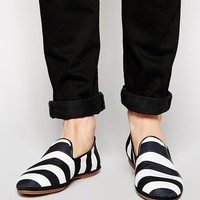 House of Hounds Stripe Dress Slippers
