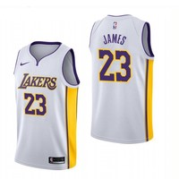 LeBron James Los Angeles Lakers #23 Nike Purple Swingman Association Edition jerseys - Best Deal Online