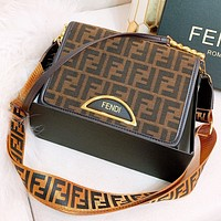 Fendi Fashion New More Letter Leather Shopping Leisure Shoulder Bag Women Crossbody Bag