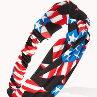 Patriotic Knotted Headwrap