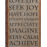 Harvey & Haley Wall Decor with Rustic Finish And Robust Design