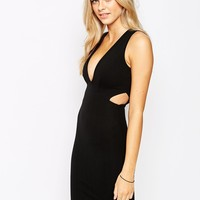 New Look Cut Out Bodycon Dress
