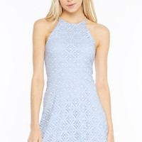 Picture Perfect Embroidered Lace Dress