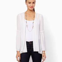 Annabelle Chiffon Cardigan | Fashion Apparel and Clothing - Tops | charming charlie