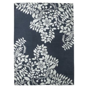 Room 365™ Placed Floral Area Rug - Navy Blue