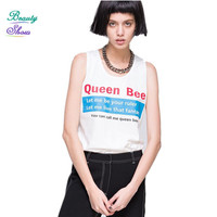 Summer Style All-Matched Women Tops New Fashion Streetwear Women's T Shirt Letter Printed Tshirt Women Clothing Plus Size