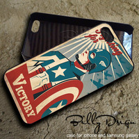 captain america retro poster-case for iphone 4,iphone 4s,iphone 5,iphone 5c,iphone 5s,samsung galaxy s3 and s4 case