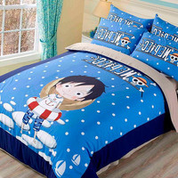 One Piece Luffy Bedding
