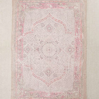 Iona Dotted Medallion Print Rug | Urban Outfitters