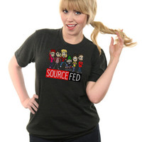 The New and Improved SourceFed Shirt - ForHumanPeoples