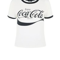 White Coca Cola T-Shirt