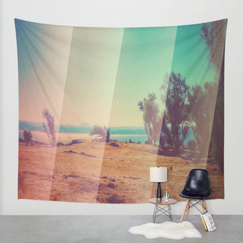 California Drought Wall Tapestry by DuckyB (Brandi)