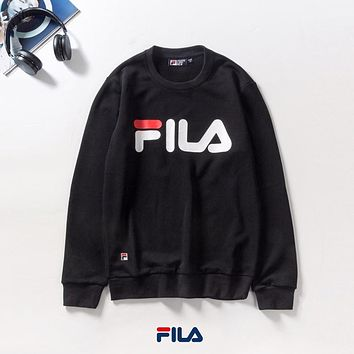 FILA Woman Men Pullover Sweatershirt