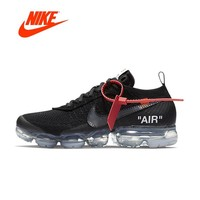 Original New Arrival Authentic NIKE X Off White VaporMax 2.0 AIR MAX Breathable Men's Running Shoes Sport Sneakers AA3831-002