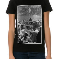 The Deport Him Tee in Black