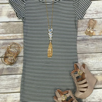 Hitting the Town Dress: Olive