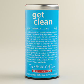 The Republic of Tea Get Clean Herb Tea, 36-Count - World Market