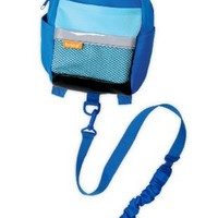 BRICA By-My-Side Safety Harness Backpack, Blue (Discontinued by Manufacturer)