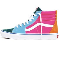 Sk8-Hi Suede / Canvas Women's Sneakers Multi / Bright