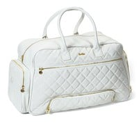 Womens Overnight Bag (White)