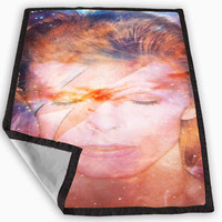 david bowie galaxy Blanket for Kids Blanket, Fleece Blanket Cute and Awesome Blanket for your bedding, Blanket fleece *