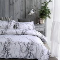 Cool Twin/Queen/King Gray Bedroom Comforter Bedding Sets Bed Quilt Sheets Set Bedclothes Duvet Cover Bedspread PillowcaseAT_93_12