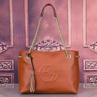 GG Newest Popular Women Leather Tote Crossbody Satchel Shoulder Bag Handbag