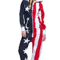 USA Onesuit Stars and Stripes