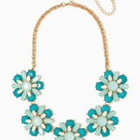 Juicy Jewels Flower Necklace | Statement Jewelry | charming charlie