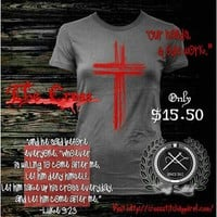 "**Ladies** ""The Cross""....where it all went down!! THANK YOU JESUS! ... - crossstitchapparel @ Instagram Web Interface - 5th village"