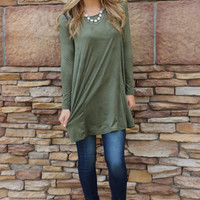 tough around the edges tunic
