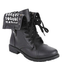 The Nightmare Before Christmas Jack Heads Combat Boot