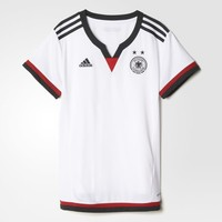 adidas Germany Home Replica Player Jersey - White   adidas US