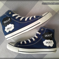 Okay? Okay. Painted Shoes / Custom Converse / The Fault in Our Stars