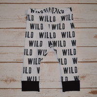 Baby Leggings, Toddler Leggings - Wild