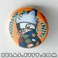 Naruto - Kakashi Button