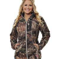 Reversible Puffy Jacket - Mossy Oak Break Up Country® – Girls With Guns®