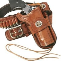 Ross Cowboy Leather Tooled Belt with .44/.45 Loops : Cabela's
