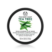 Face Mask - DIY Spa Gifts - Tea Tree Oil   The Body Shop ®