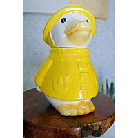 Vintage Duck Ceramic Cookie Jar