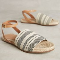 Raphaella Booz Salerno Sandals in Neutral Motif Size: