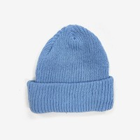 Brushed Basic Beanie in Sky Blue