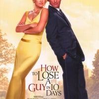 How to Lose a Guy in 10 Days 27x40 Movie Poster (2003)