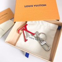 Louis Vuitton Lv M63079 Capucines Bag Charm And Key Holder Red