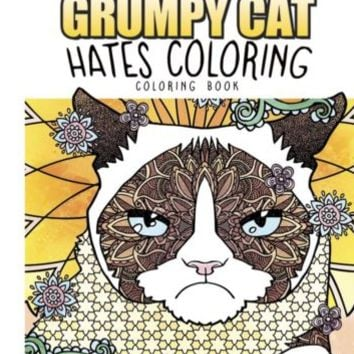Grumpy Cats Hate Coloring Book